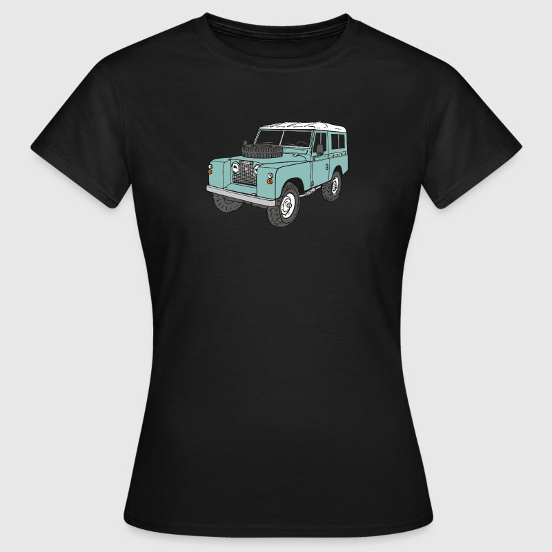 Landie 4x4 Off-Road Series 2 88 Classic T-Shirts - Women's T-Shirt