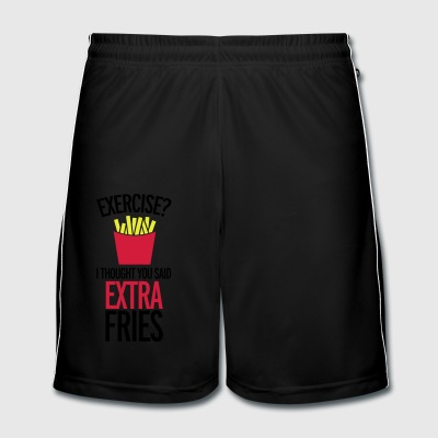 Extra Fries T-shirts - Mannen voetbal shorts