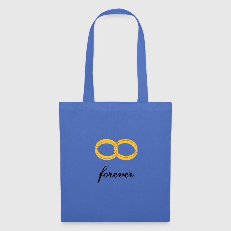 wedding rings forever Bags & Backpacks - Tote Bag