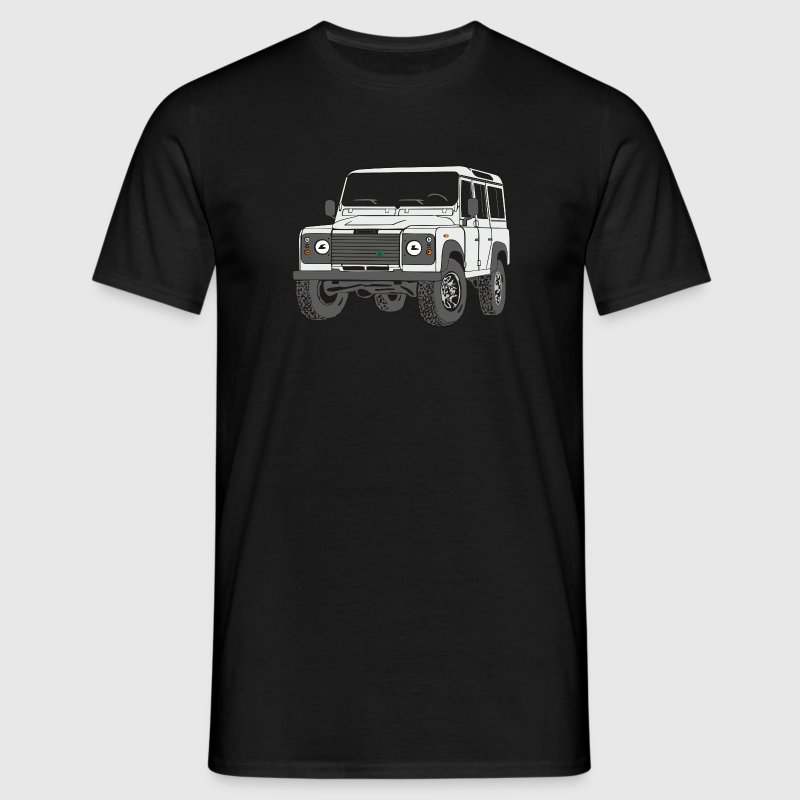 4x4 Defender 110 Adventure T-Shirts - Männer T-Shirt
