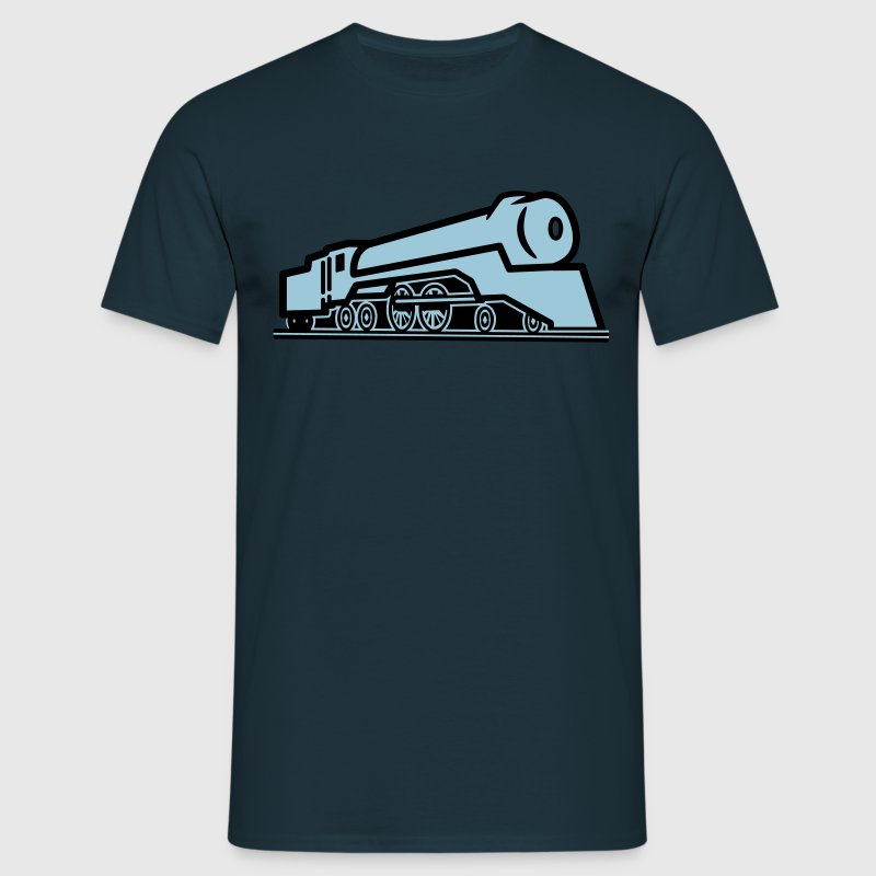 Chemin de fer train locomotive Tee shirts - T-shirt Homme
