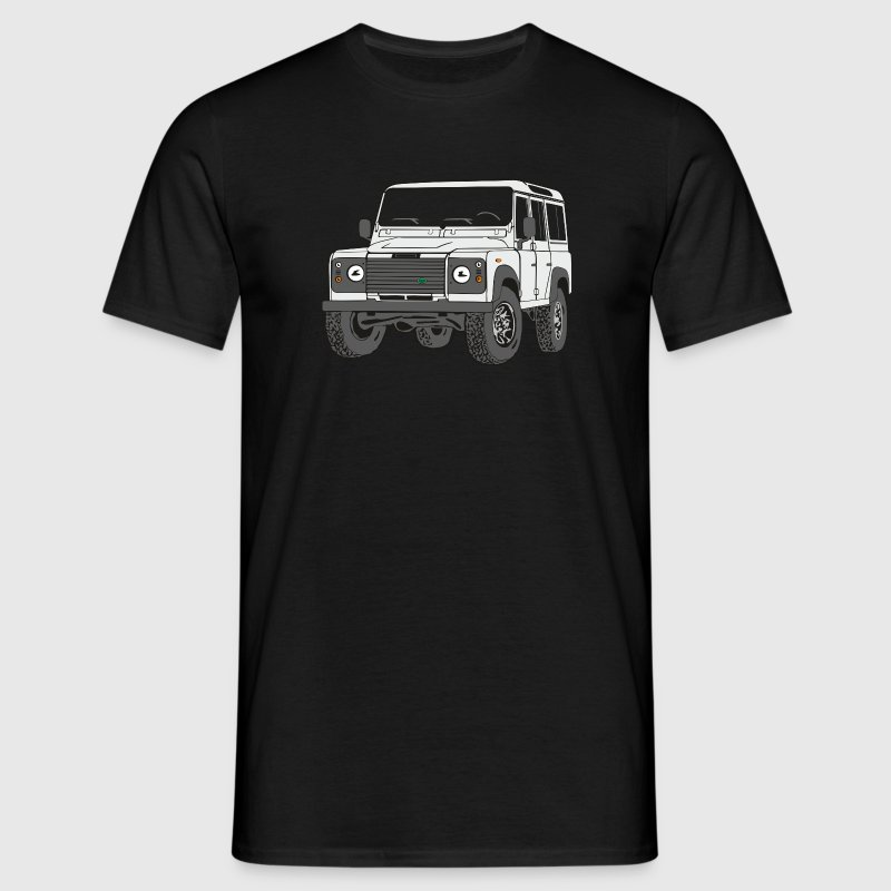 4x4 Defender 110 Adventure T-shirts - Mannen T-shirt