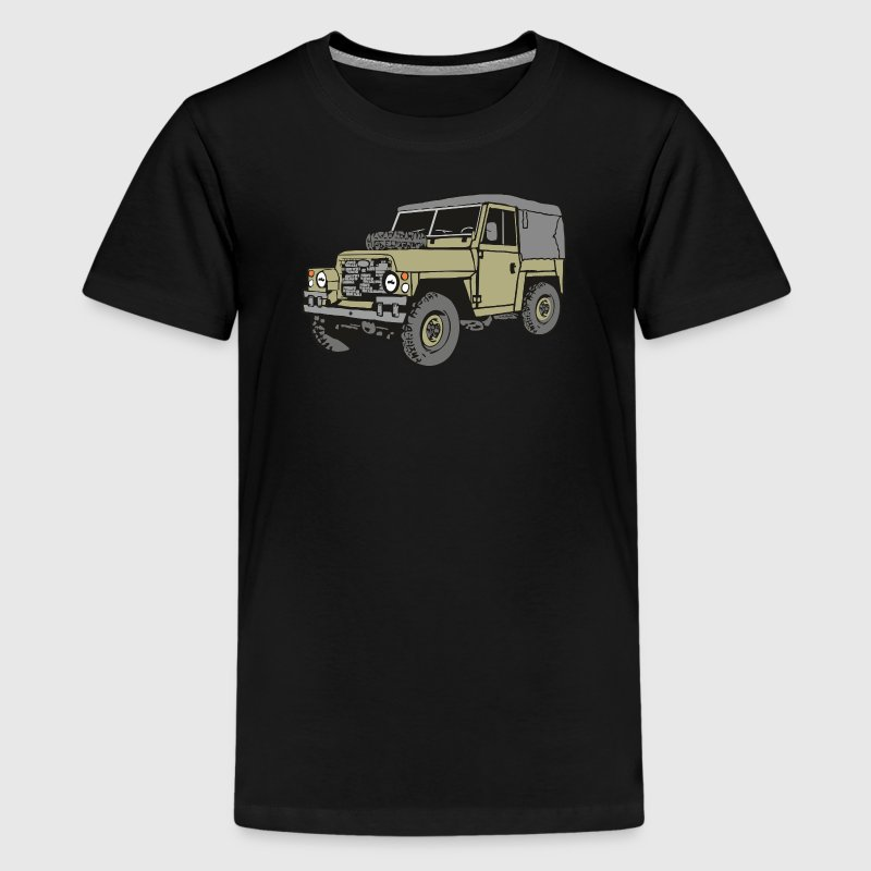 Land Rover Lightweight Light Weight 4x4 Offroad T-Shirts - Teenager Premium T-Shirt