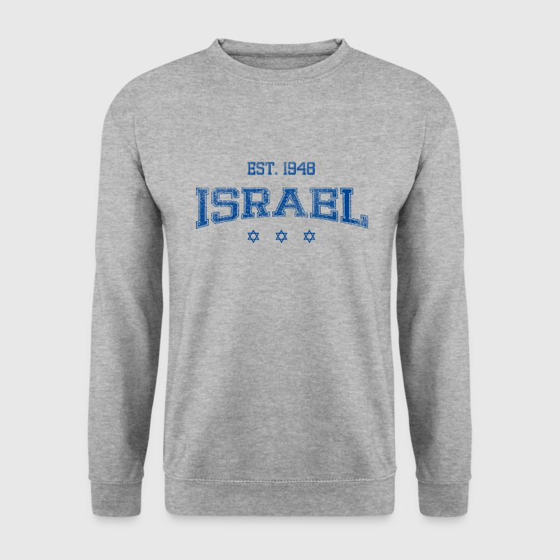 ISRAEL blue.png Sweat-shirts - Sweat-shirt Homme