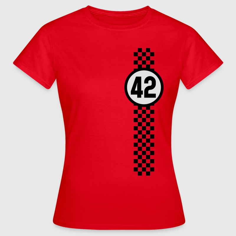 Racing 42 T-Shirts - Frauen T-Shirt