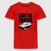 Save the Panda (Fiat Seat) Camisetas - Camiseta premium adolescente