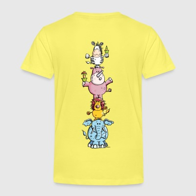 Funny Animal Circus - Zoo Shirts - Kids' Premium T-Shirt