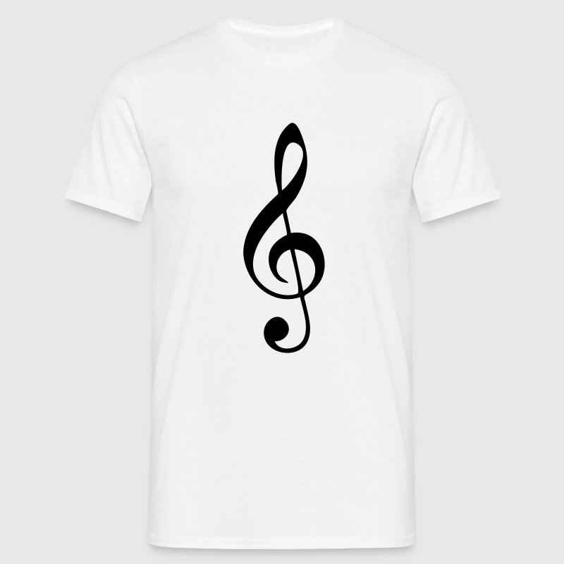 Music, sheet music, classical, note, band, choir T-Shirts - Men's T-Shirt