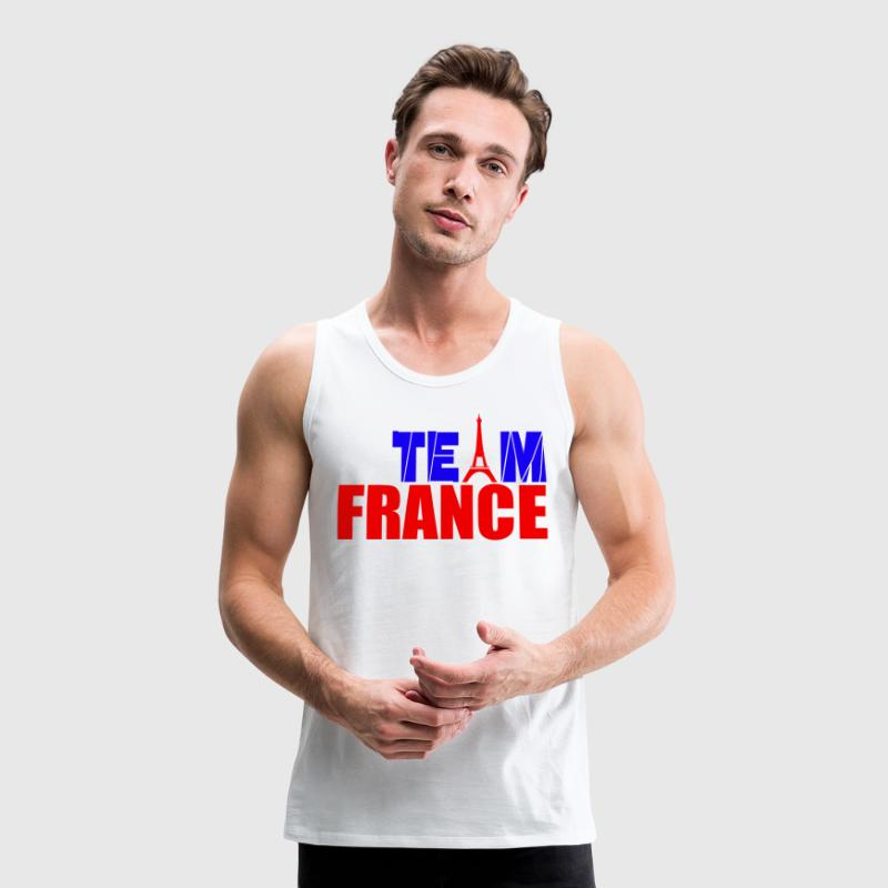 team france Tank Tops - Men's Premium Tank Top
