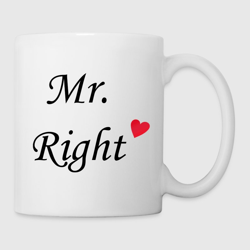Mr. Right Tasse - Tasse
