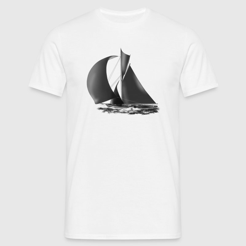 voilier Tee shirts - T-shirt Homme