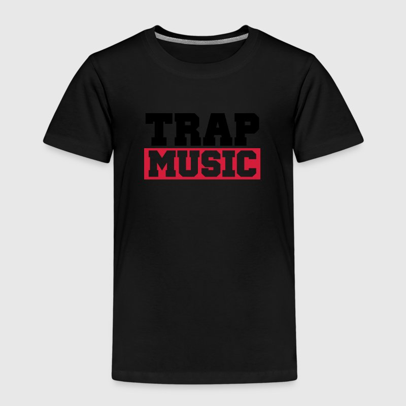 TRAP MUSIC - BASS PARTY Camisetas - Camiseta premium niño
