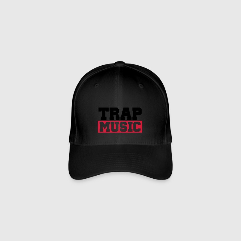 TRAP MUSIC - BASS PARTY Gorras y gorros - Gorra de béisbol Flexfit