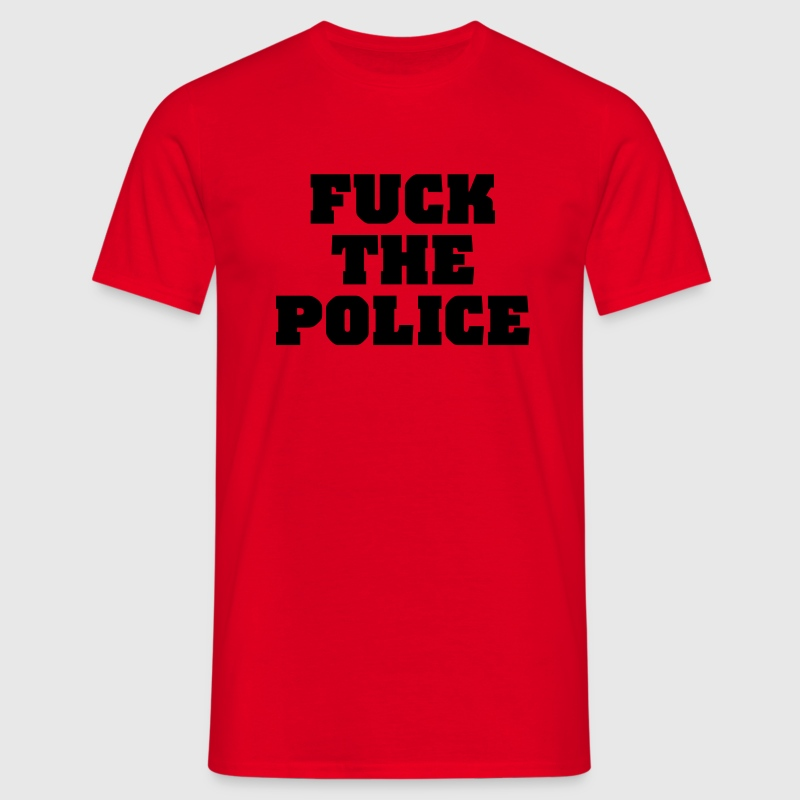 Fuck the Police T-shirts - Herre-T-shirt