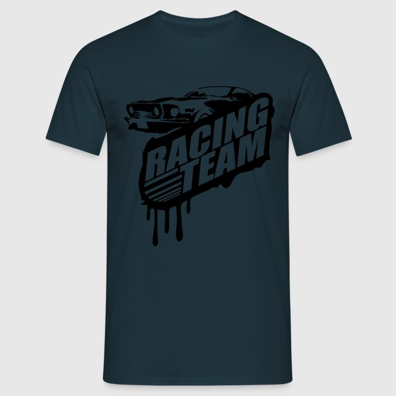 Racing Team Graffiti Stamp Design T-Shirts - Men's T-Shirt