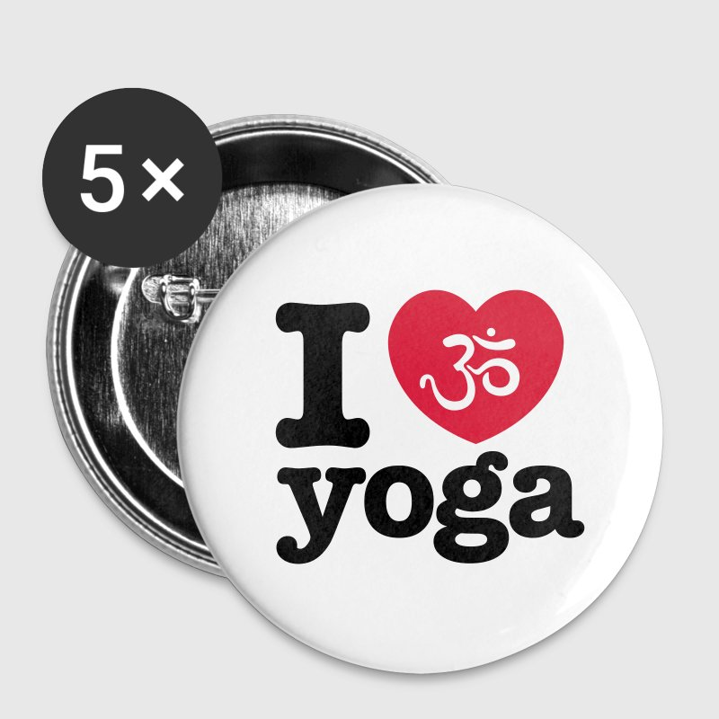 yoga button - Buttons klein 25 mm