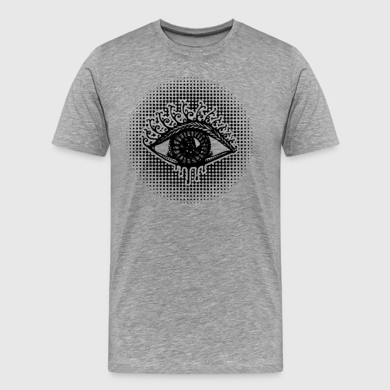 Eye, symbol protection, wisdom, healing & strength T-Shirts - Männer Premium T-Shirt