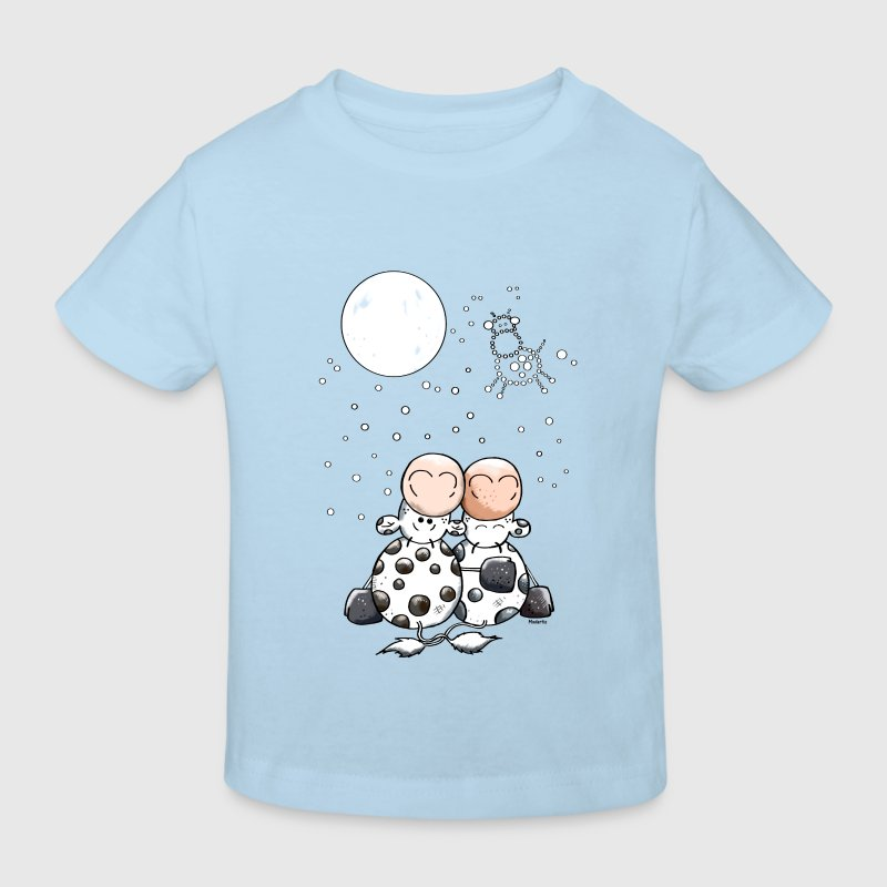 Romantic Cow Star Shirts - Kids' Organic T-shirt