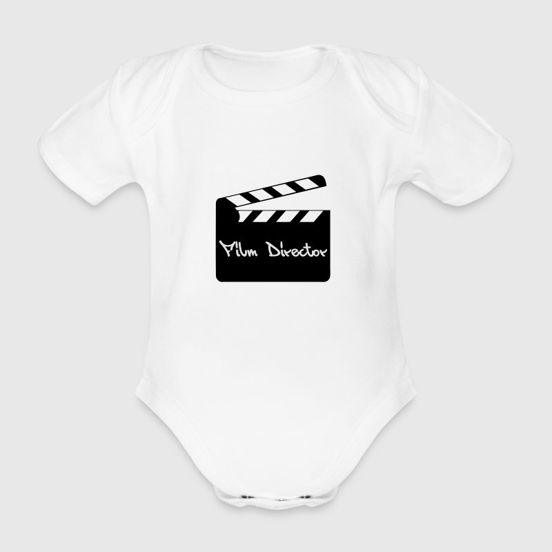 Film Director T-Shirts - Baby Bio-Kurzarm-Body