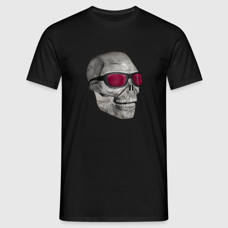 skull with sunglasses 3000 - Men's T-Shirt