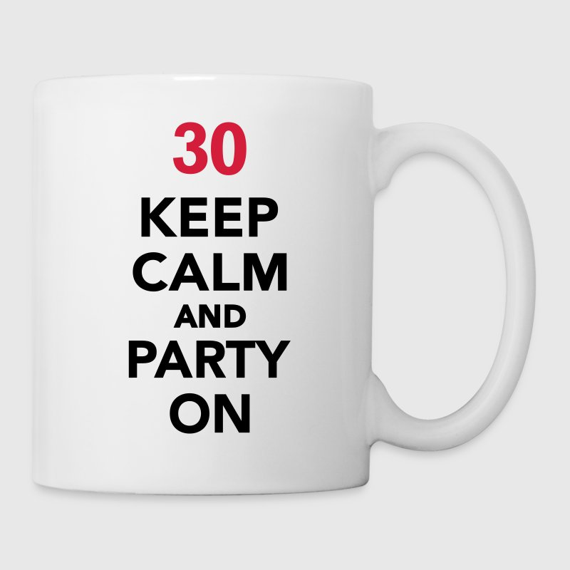 Keep calm 30 Compleanno - Tazza