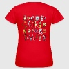 Buntes Tier Alphabet - ABC T-Shirts - Frauen T-Shirt