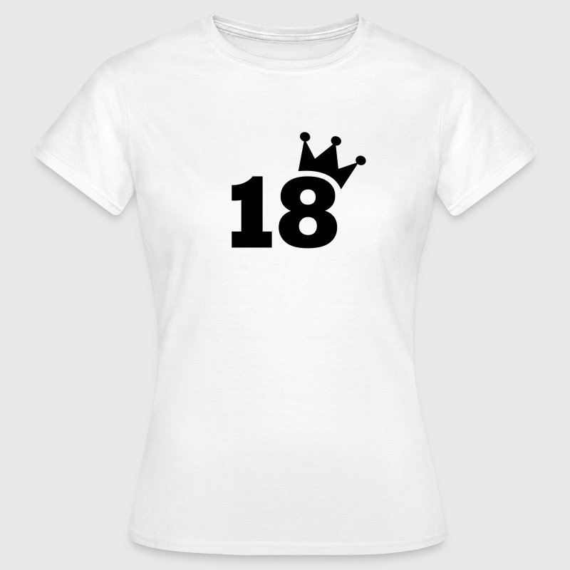 18 T-Shirts - Frauen T-Shirt