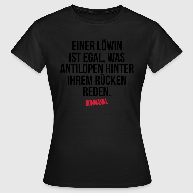 Löwin T-Shirts - Frauen T-Shirt