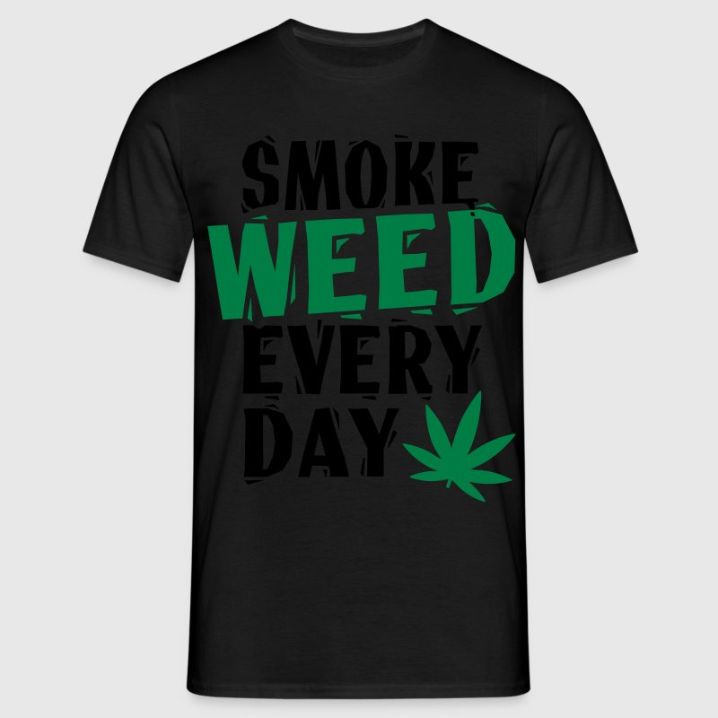 Smoke Weed Everyday Linovert Tee shirts - T-shirt Homme