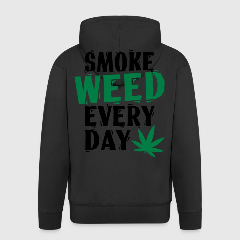 Smoke Weed Everyday Linovert Sweat-shirts - Veste à capuche Premium Homme