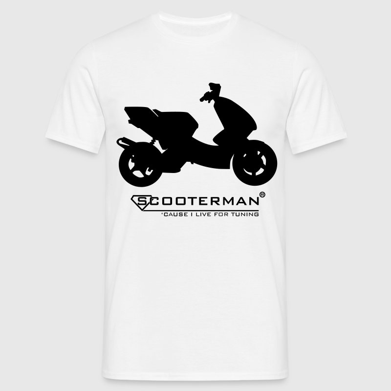 Scooter Tuning | You are Scooterman T-Shirts - Männer T-Shirt