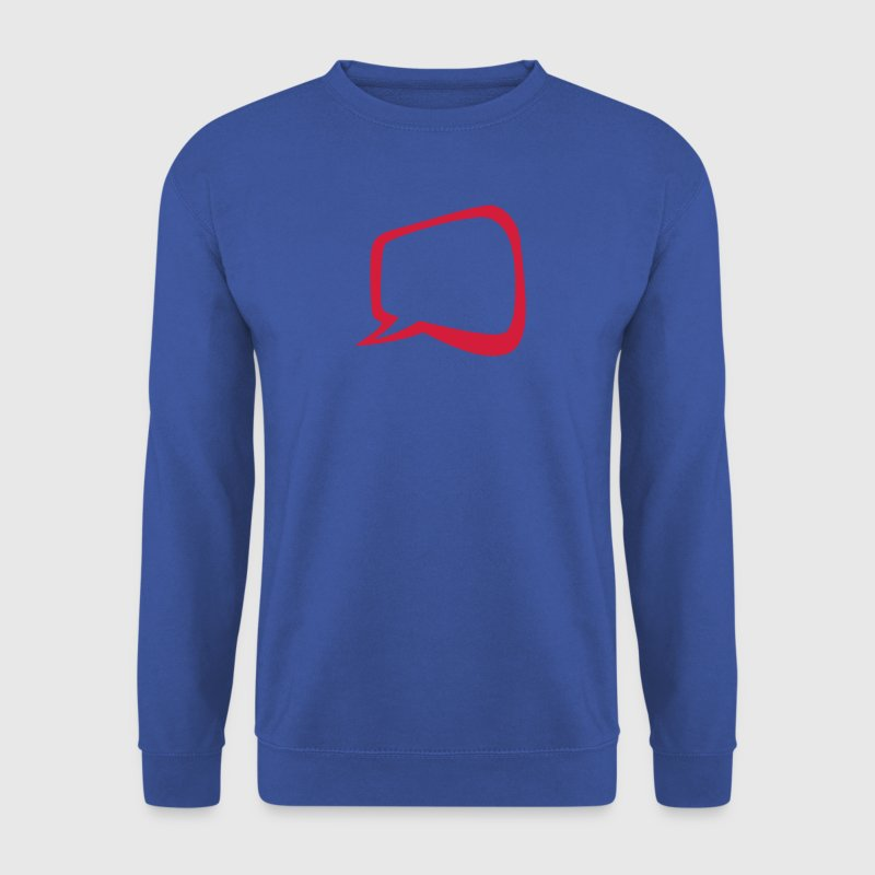 bulle vide ajouter texte 0 Sweat-shirts - Sweat-shirt Homme