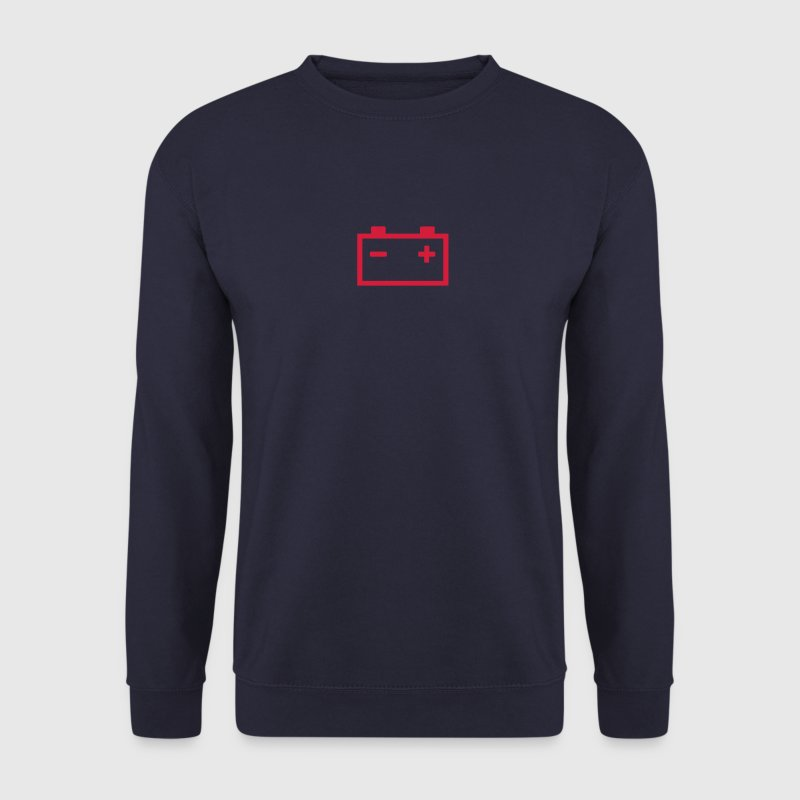 logo batterie voiture 25 Sweat-shirts - Sweat-shirt Homme