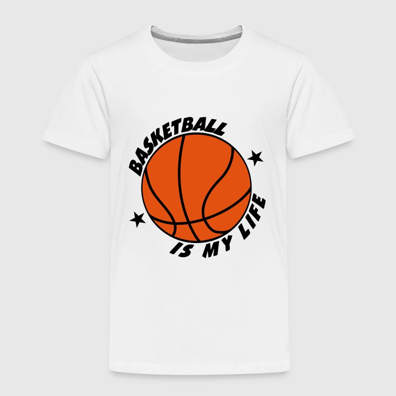 Basketball T-shirts - Børne premium T-shirt