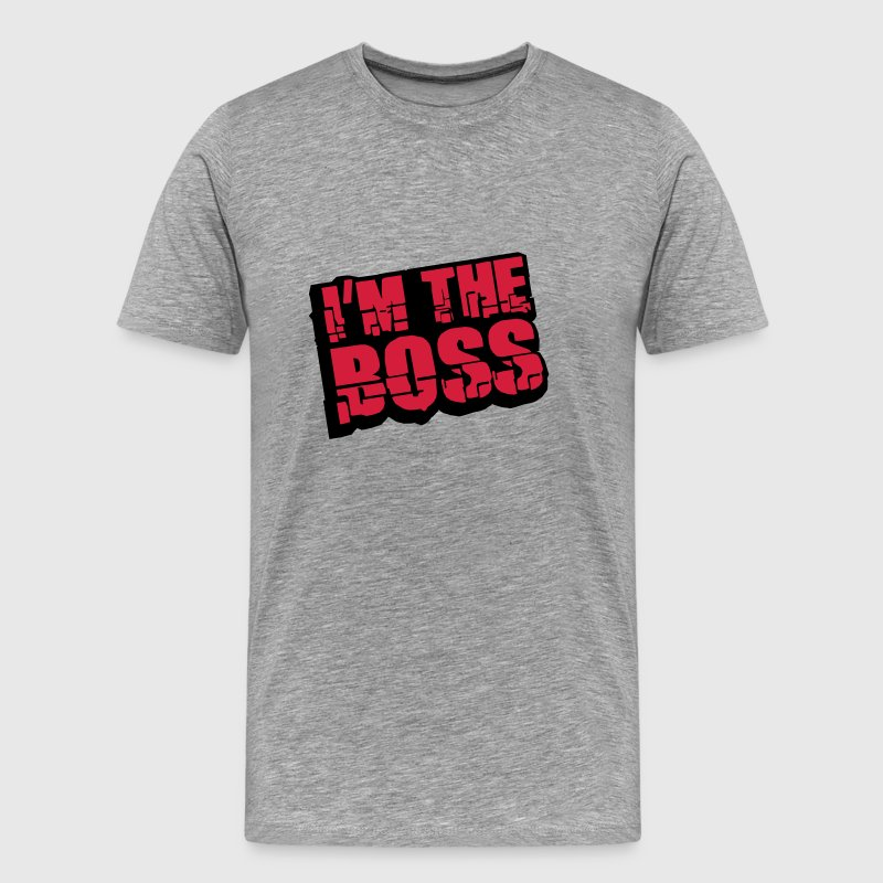 Cool I´m The Boss Logo Design T-Shirts - Men's Premium T-Shirt