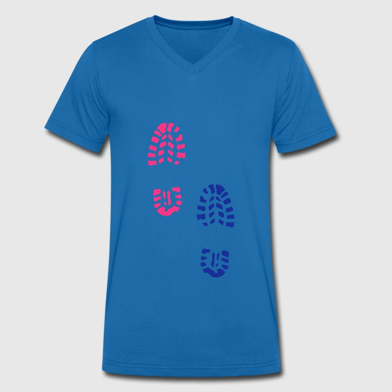 trace pas chaussure 232 Tee shirts - T-shirt bio col en V Stanley & Stella Homme