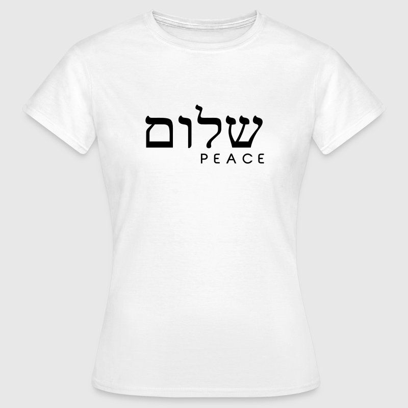 Shalom T-Shirts - Frauen T-Shirt