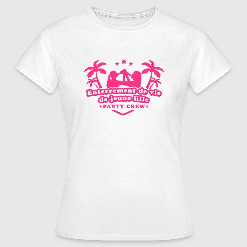 Célèbre Tee shirt enterrement de vie de jeune fille | Spreadshirt EP72