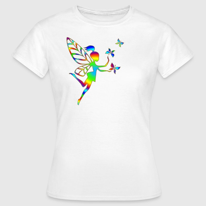 Elfe, Fee, Schmetterlinge, Magie, Zauberei T-Shirt - Frauen T-Shirt