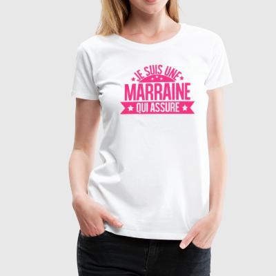 tee shirts je suis une marraine qui d chire commander en ligne spreadshirt. Black Bedroom Furniture Sets. Home Design Ideas