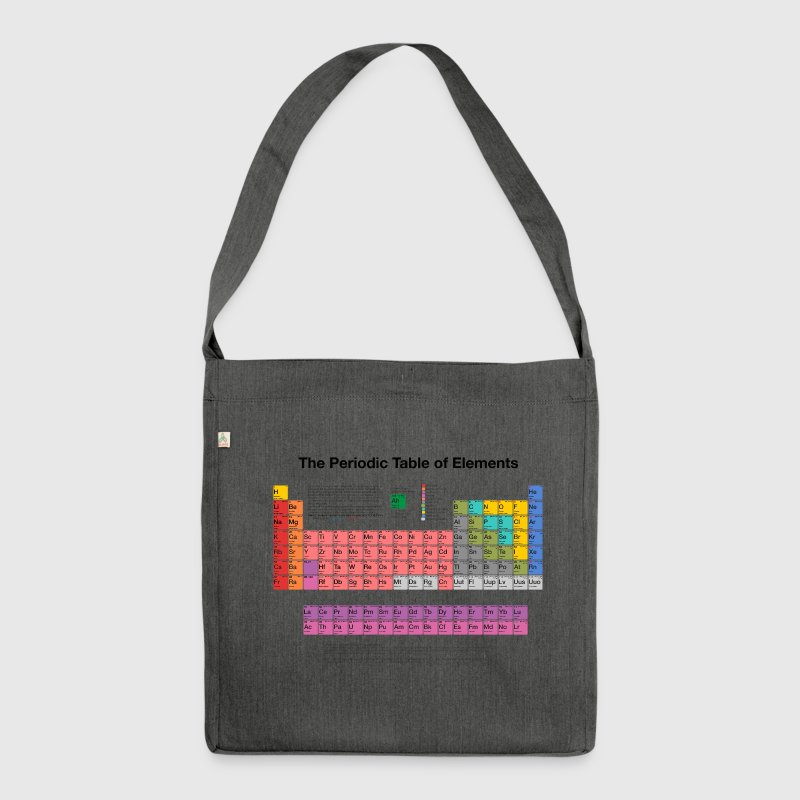 Periodic Table who invented the periodic table elements : Periodic Table of Elements (PTE) dark Shoulder Bag | Spreadshirt