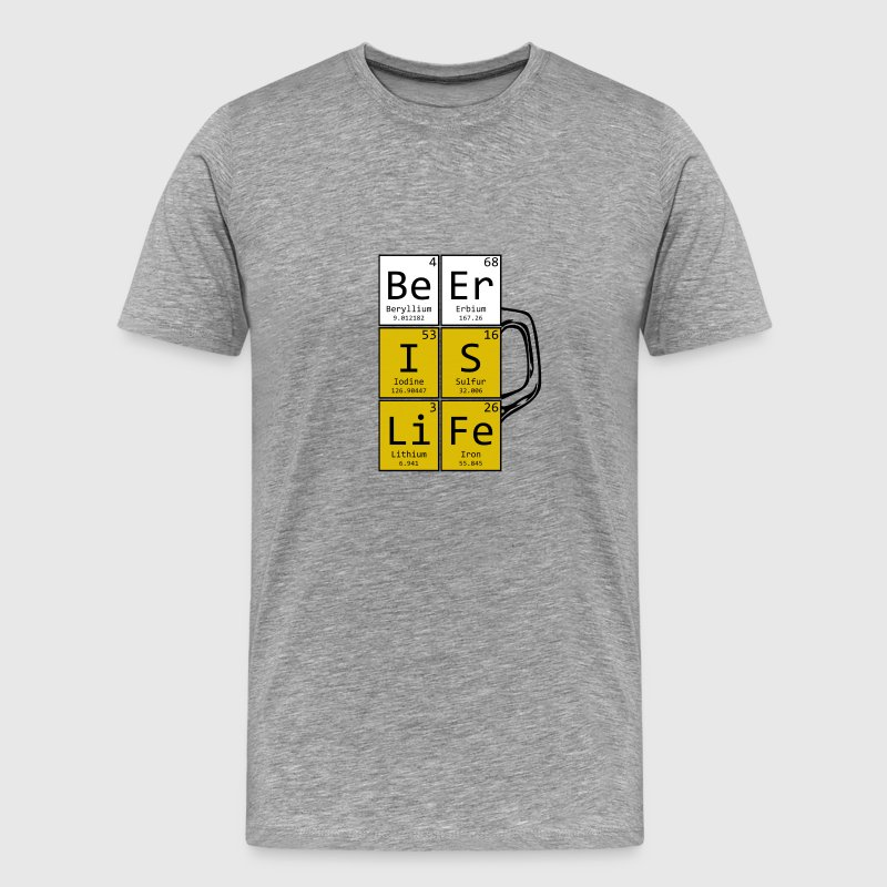 Beer Is Life Pint - T-shirt Premium Homme