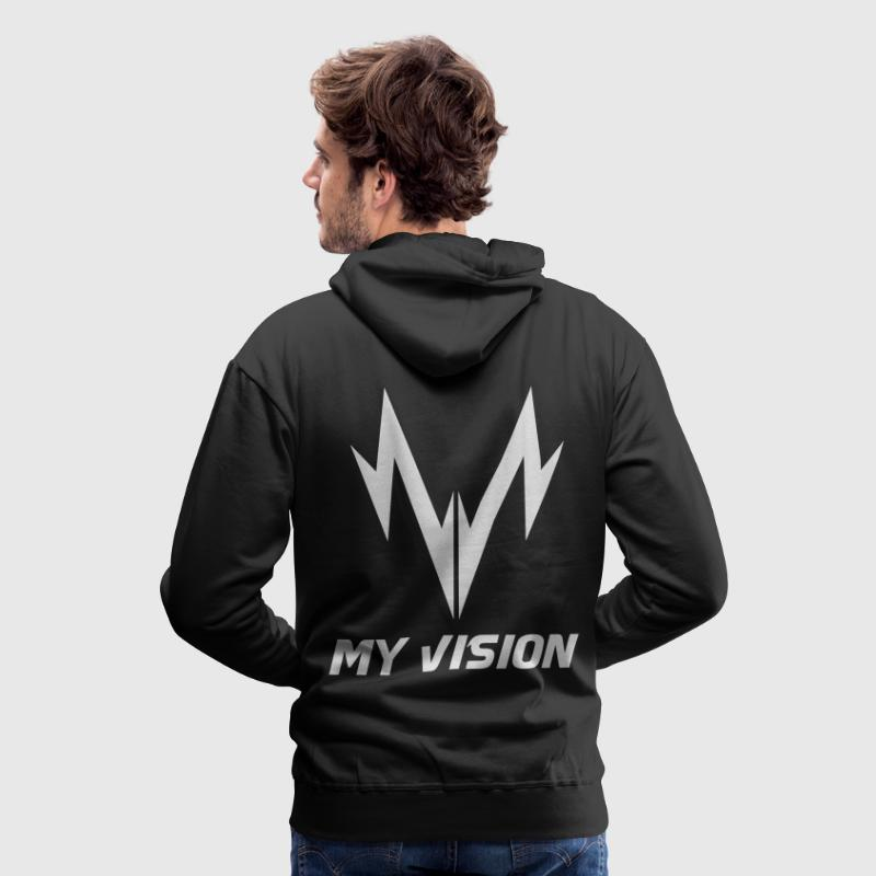 Sweat MY VISION - Sweat-shirt à capuche Premium pour hommes