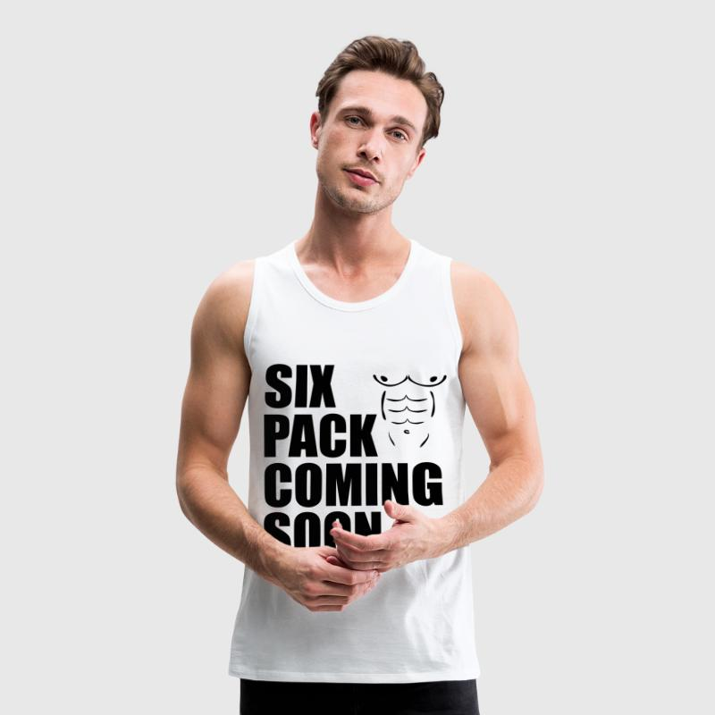 Six Pack Coming Soon Tank Tops - Männer Premium Tank Top