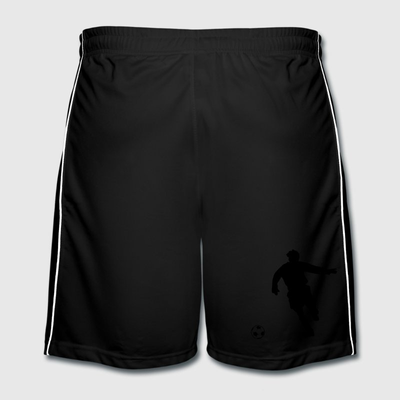 football player silhouette Trousers & Shorts - Men's Football shorts