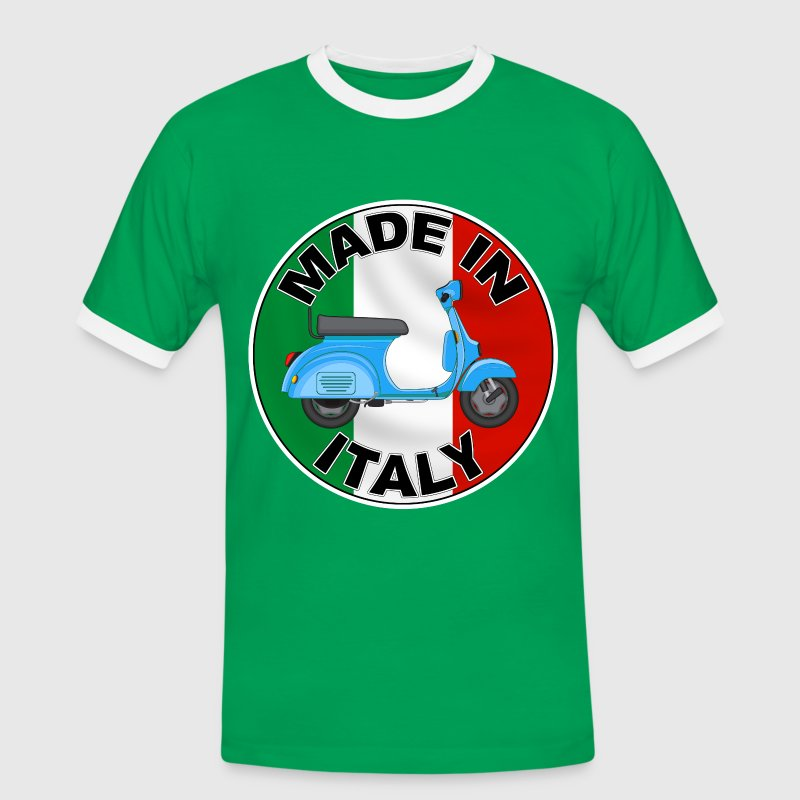 made in italy 02 Tee shirts - T-shirt contrasté Homme