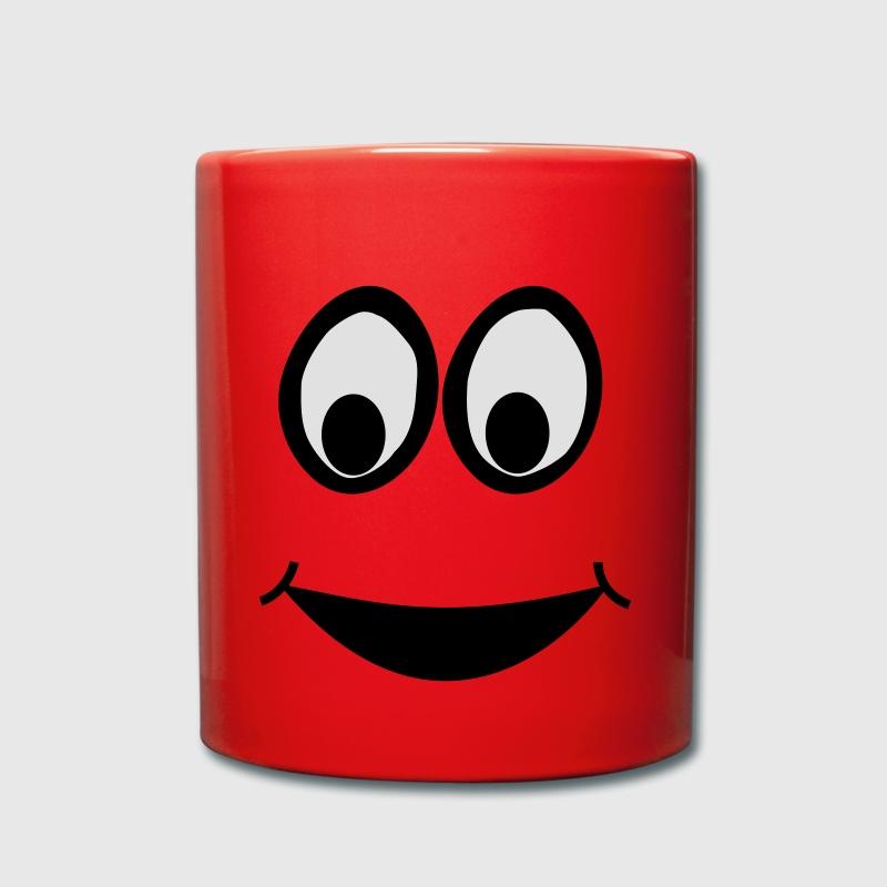 Tassen Face : Funny face cartoon trickfilm smiley tasse