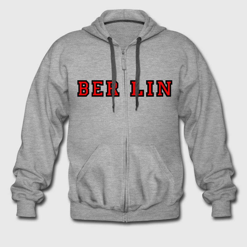 Berlin Campus for jackets - Men's Premium Hooded Jacket