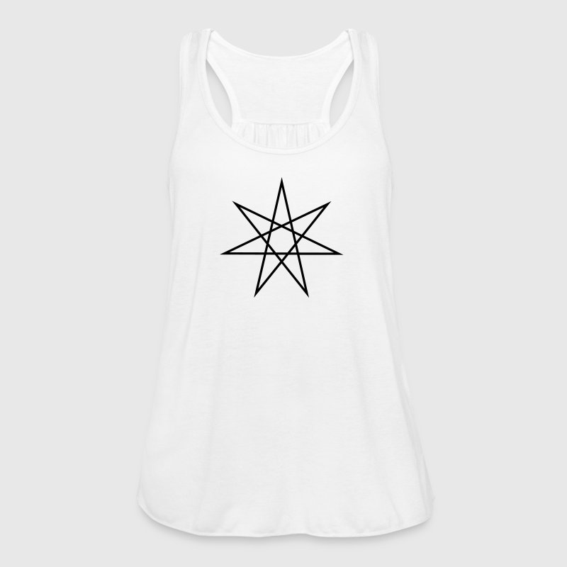 Elven Star, Heptagram, Fairy Star, Pagan, Wicca Tops - Women's Tank Top by Bella