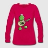Rock and Pop Frog - Grenouille Manches longues - T-shirt manches longues Premium Femme
